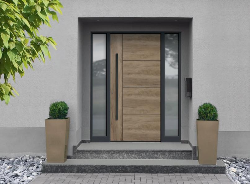 INNOVALU - Conception, fabrication et pose de portes d'entrée aluminium sur mesure à Limoges