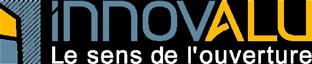 Logo INNOVALU - Le sens de l'ouverture - Portes & fenêtres alu/PVC, volets, vérandas, portails, stores...