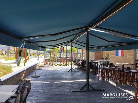 INNOVALU - Pose de stores de terrasse sur mesure pour les professionnels à Limoges